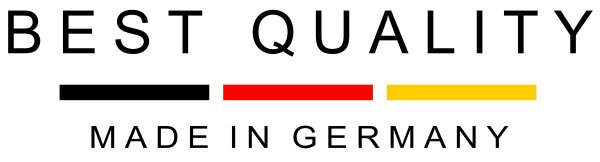 100% Quality made in Germany